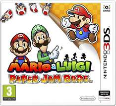 [Amazon.it] Mario & Luigi: Paper Jam Bros. (3DS) für 23,48€ - 31% sparen