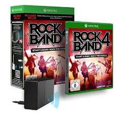 Rock Band 4 inkl. Adapter - [Xbox One] um 40,33€ - alternativ 69,80€