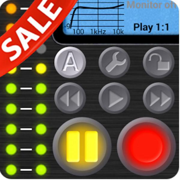 [Google Play] Field Recorder - sehr gute Audio-Aufnahme App für 1,99€ - 60% sparen