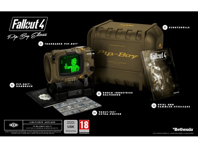 [Saturn] Fallout 4 (Pip-Boy Edition) [Xbox One] für 50,-€ mit Newslettergutschein