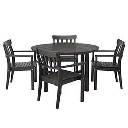 IKEA Wien Vösendorf - 1x Tisch + 4x Stühle (außen) um 199 € - statt 379 €