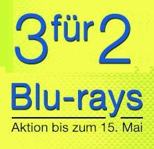 3 Blu-rays zum Preis von 2