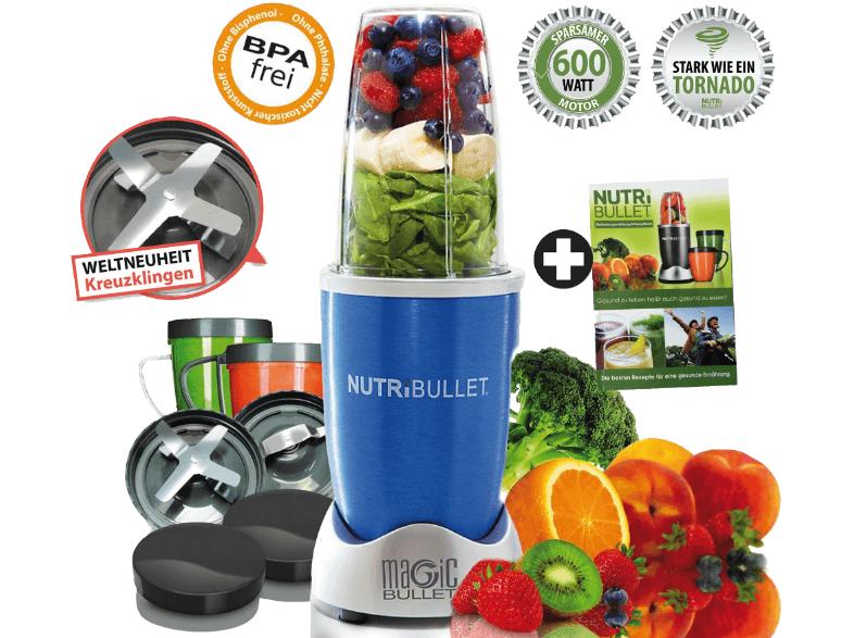 [MediaMarkt] 8 bis 8 Angebot - NUTRI BULLET Nährstoff Extraktor 79€ - 21% Ersparnis