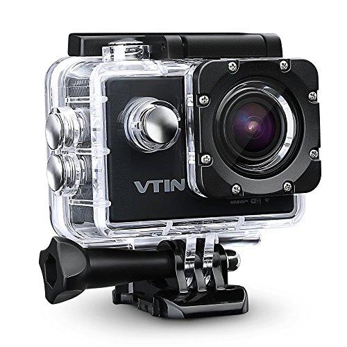 VTIN Full HD Action Kamera mit WIFI und großem Zubehör Kit