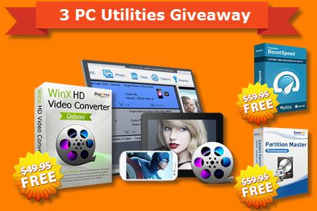 3 kostenlose PC/Mac Programm, statt 169$ @Auslogics @WinXDVD @EaseUs