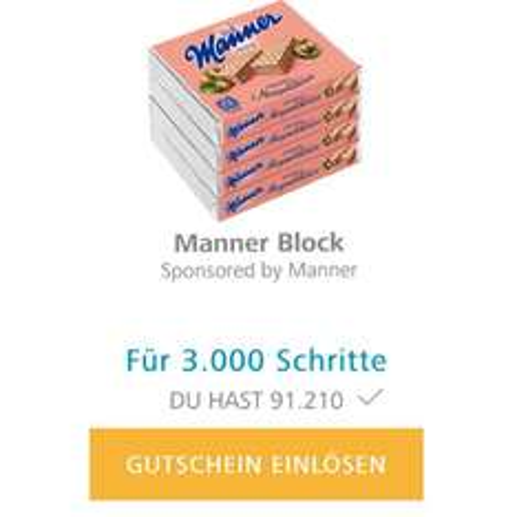 """""""Wien zu Fuß"""" App - Gesammelte Schritte gegen Goodies tauschen"""