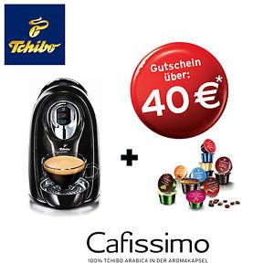 Tchibo Cafissimo COMPACT + 40€ Gutschein für Kapseln