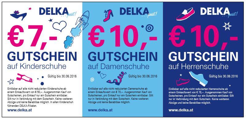 Gutschein von DELKA und 2 Gläser Frizzante