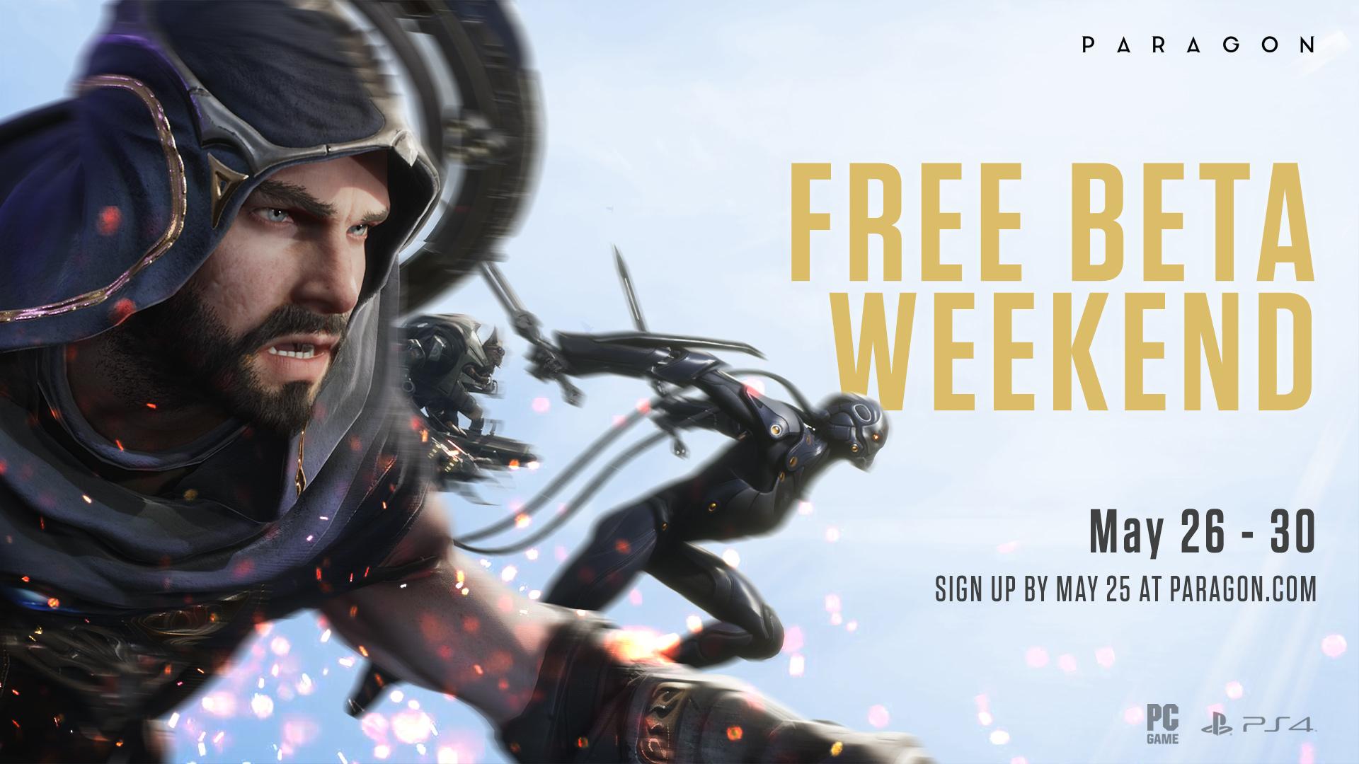 Paragon: Kostenloses Beta-Wochenende (PC / PlayStation 4) - vom 26. bis zum 30. Mai