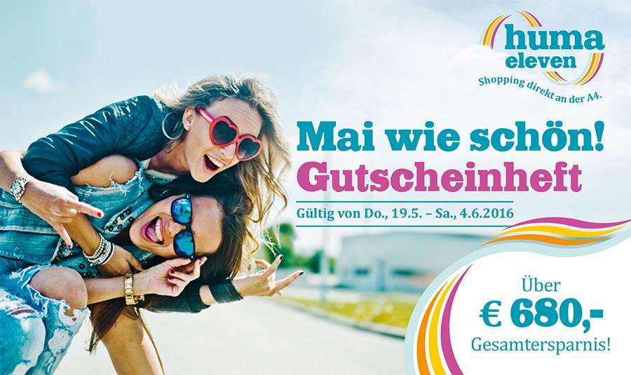 huma eleven Gutscheinheft - u.a. mit: LG Electronics 60UF695V 60 Zoll 4K TV für 999€