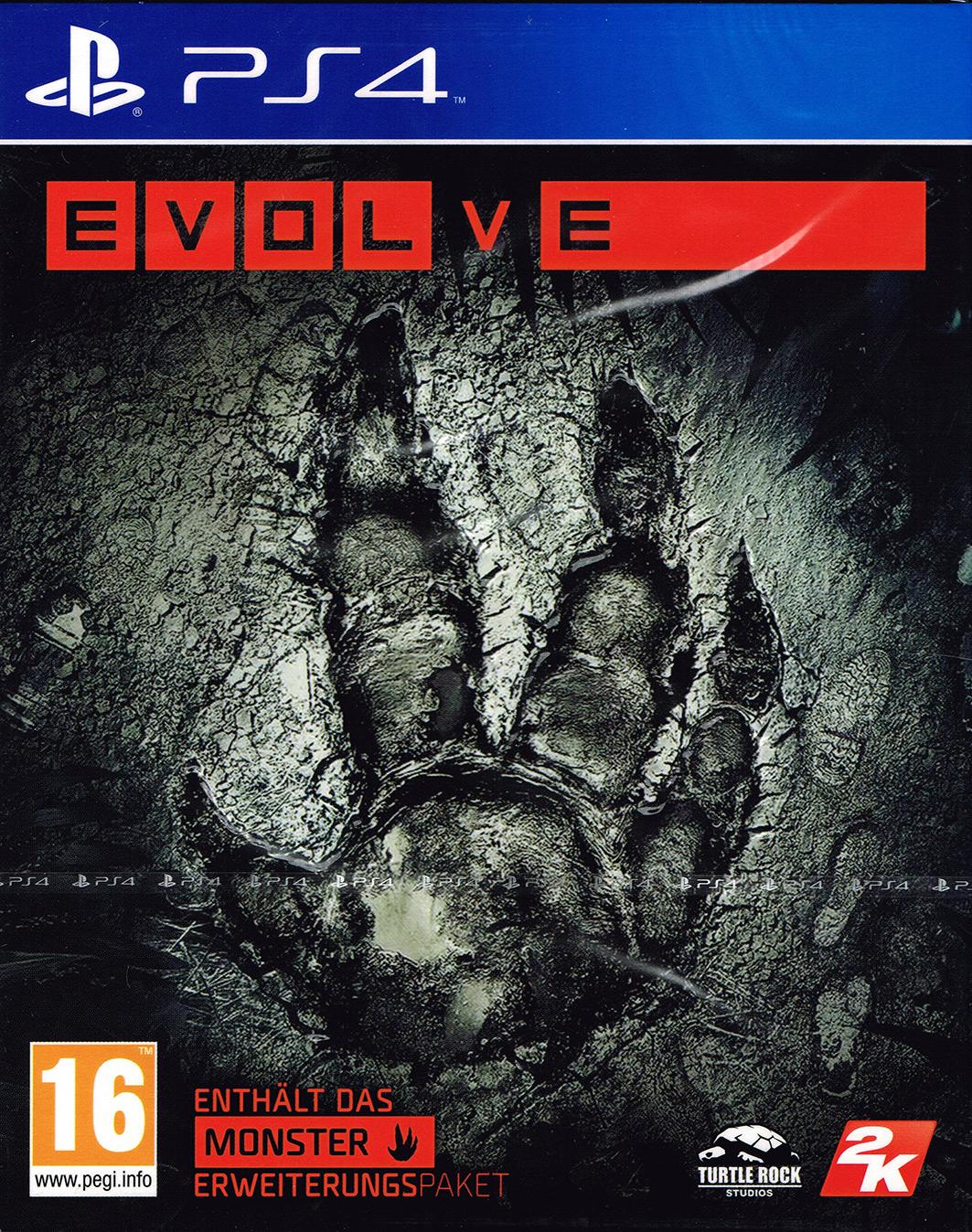 Gameware: Evolve (PlayStation 4) als EU-Import für 12,89€