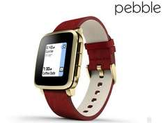 iBood: Pebble Time Steel Smartwatch (iOS / Android) für 99,95€