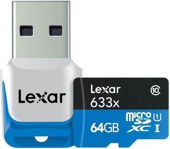 Lexar microSDXC 64GB USB 3.0 Reader Flash Speicherkarte