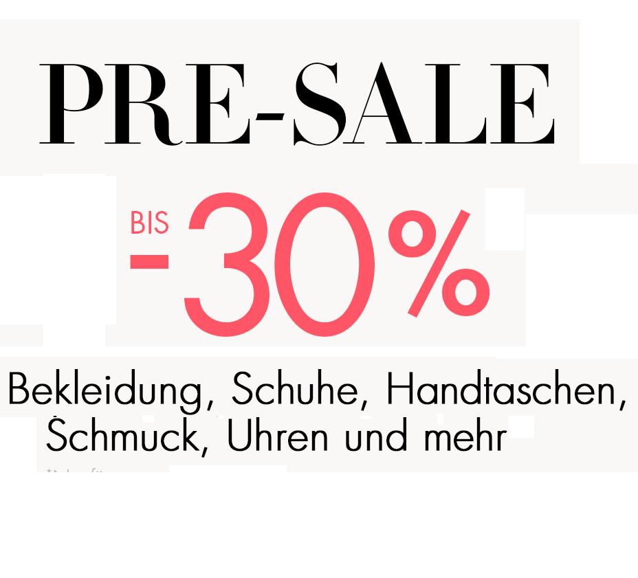 Amazon Pre-SALE: Markenkleidung, Accessoires & Schuhe bis -30%