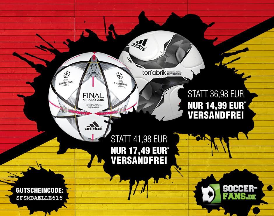 adidas Torfabrik 2015 Trainingsball & 5€ bet-at-home Wettgutschein für 14,99 € versandfrei (AT+1€)