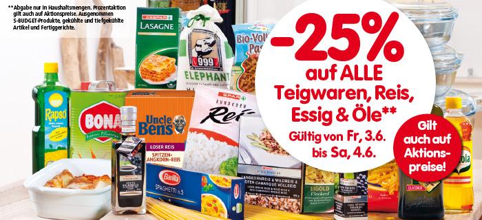 Lebensmittelhandel Angebotsübersicht 2.6.2016 - 8.6.2016