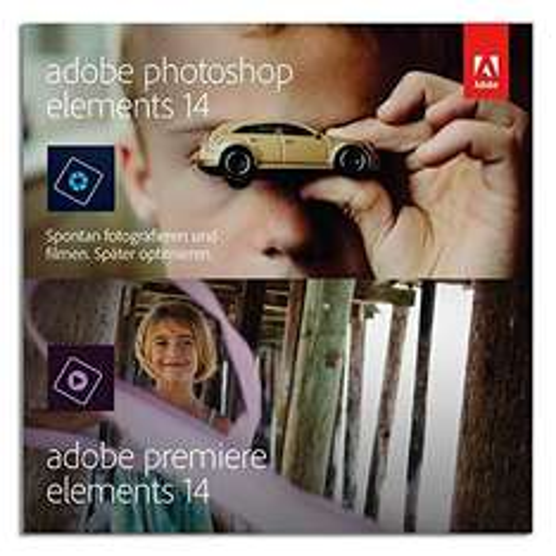 Adobe Photoshop Elements 14 & Premiere Elements 14 (Frustfreie Verpackung)