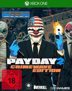 GameStop: Payday 2: Crimewave Edition (Xbox One) für 9,96€