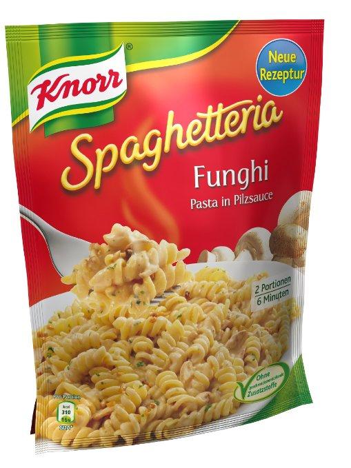 "Knorr Spaghetteria ""Funghi"" (5 x 500g) um 5,65 € - 43% sparen"