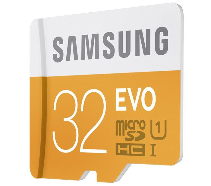 "Samsung ""EVO"" microSDXC (32 GB) um 6,23 € - 47% sparen"