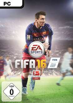 Amazon & Origin: FIFA 16 (PC) @ 19,99 € - 37% sparen