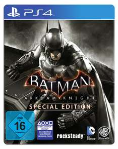 Amazon Prime: Batman Arkham Knight - (Steelbook) - [PS4] um 30 € - statt 64 €