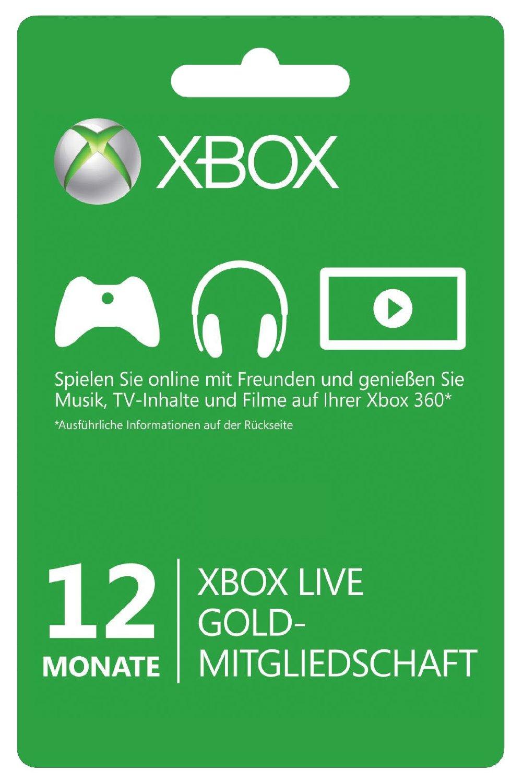 [CDKeys] XBOX LIVE GOLD 12 Monate Mitgliedschaft Karte für 34,69€