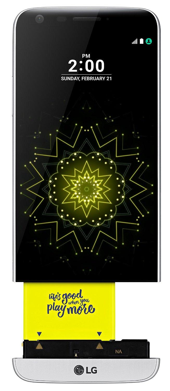 Amazon: LG G5 Smartphone (H850 - 32GB / Silber) für 440,30€