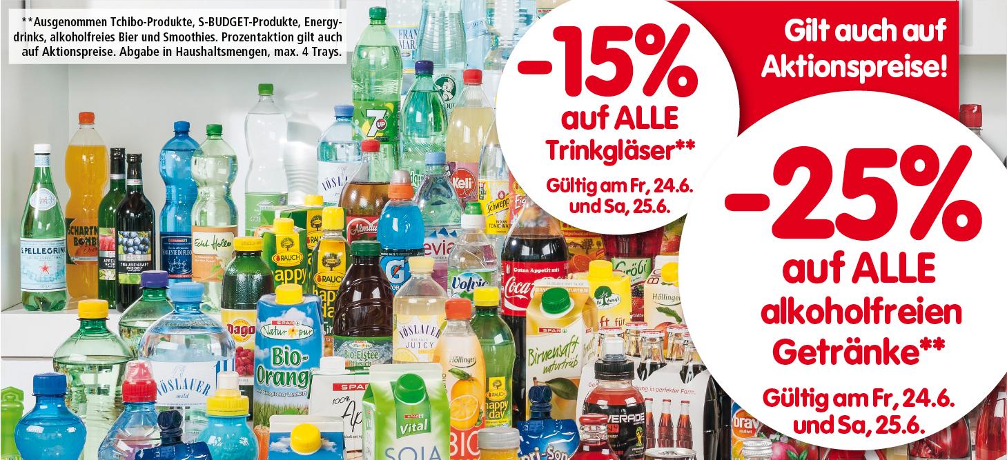 Lebensmittelhandel Angebotsübersicht 23.6.2016 - 29.6.2016
