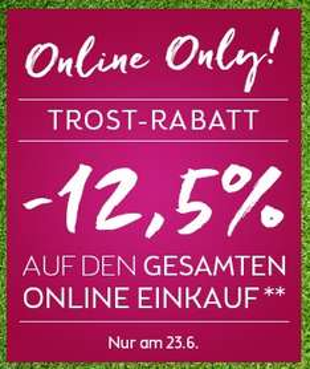 BIPA: 12,5% Rabatt auf Alles - nur heute - 23.6.2016
