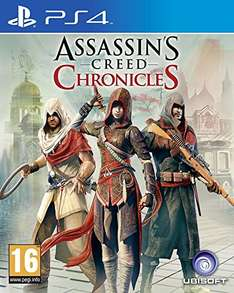 Amazon ES: Assassin's Creed Chronicles (PS4) um 15,80 € - 31% sparen