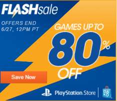 [PSN NA]Flash Sale mit u.a. Batman für 11€