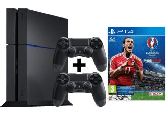PS4 500GB + zweiten Controller + EURO 2016 bei Abholung 299€