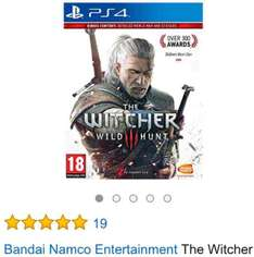 The Witcher 3: Wild Hunt (PS4) um 35€