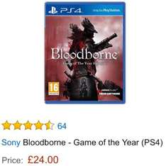 Bloodborne: Game of the Year Edition (PS4) um 35€