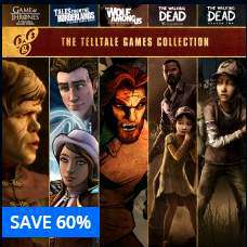 [PSN CA]Telltale Collection für 22,22€