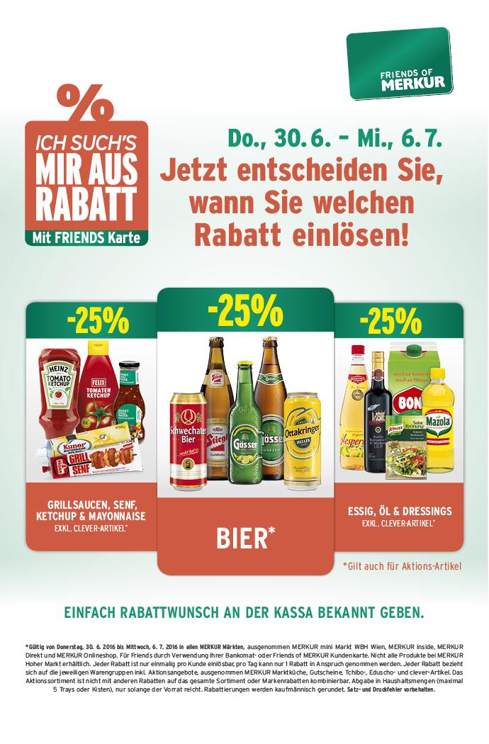 Lebensmittelhandel Angebotsübersicht 30.6.2016 - 6.7.2016