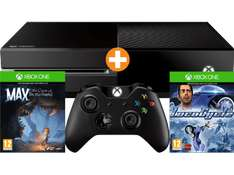 [Saturn] MICROSOFT Xbox One Konsole 500 GB Schwarz , **Refurbished** +2. Controller + Loco Cycle + Max: The Curse of Brotherhood für 177,-€ Versandkostenfrei
