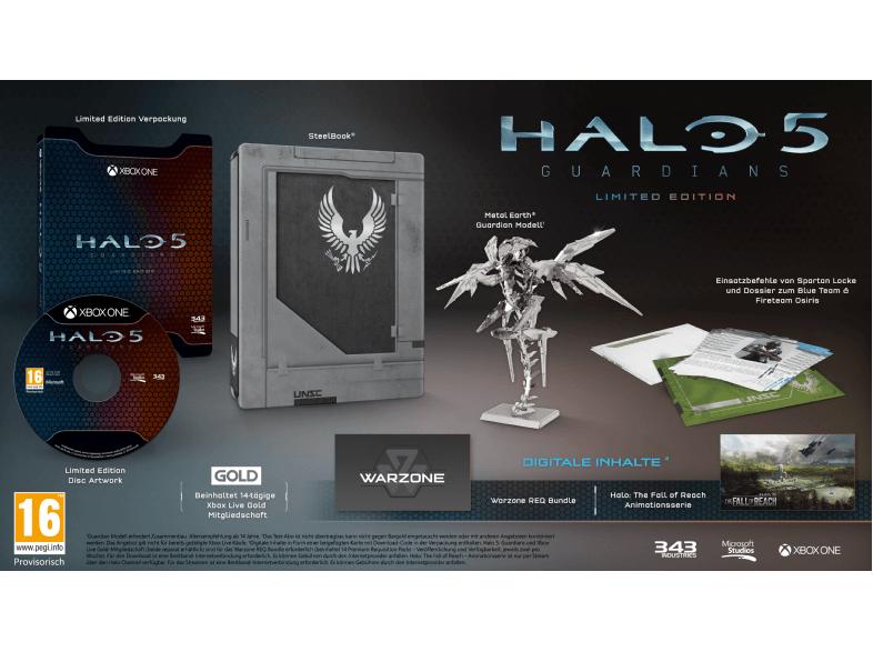 [Saturn] Halo 5: Guardians - Limited Edition (Xbox One) für 22,-€ Versandkostenfrei