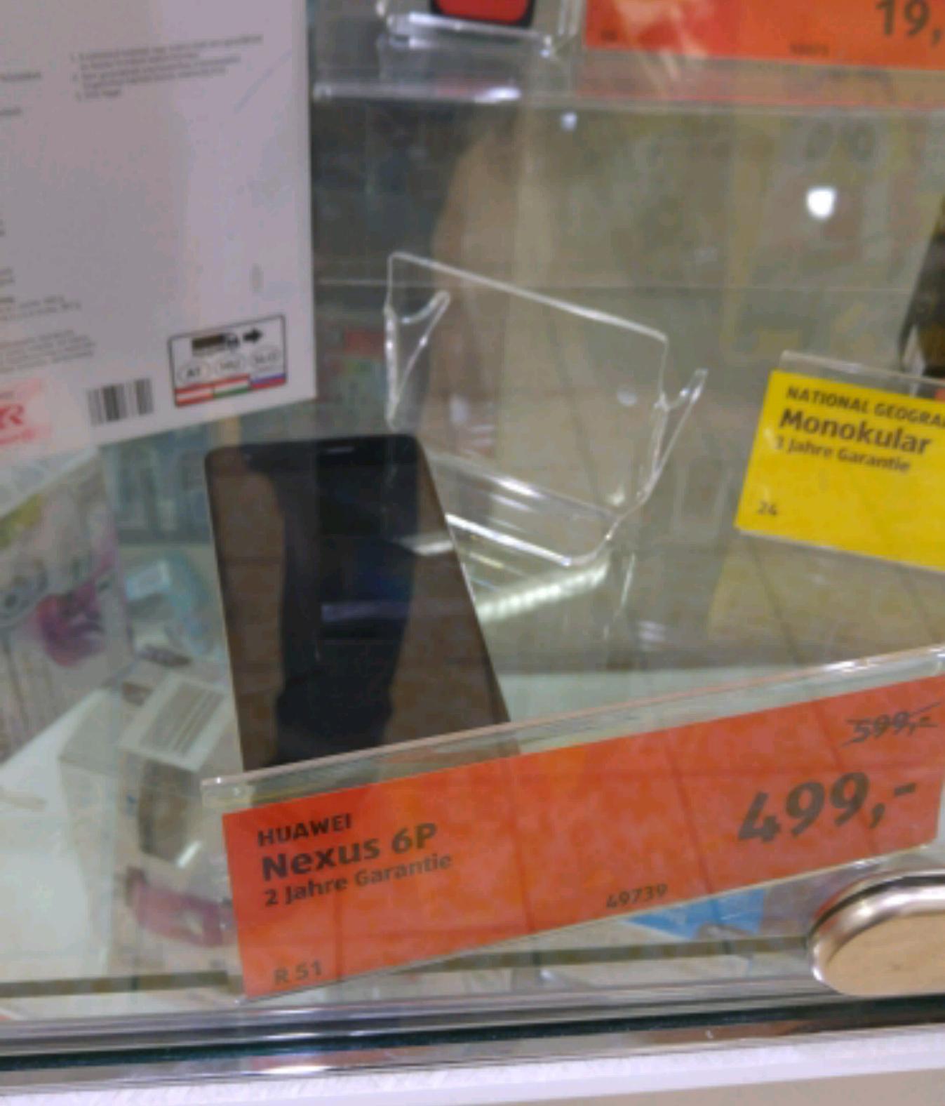 Google Nexus 6P (32 GB) um € 499