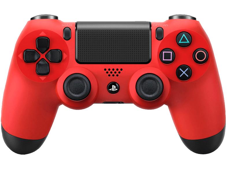 [Saturn.at] PS4 Controller (rot) für 45€ - 23% sparen