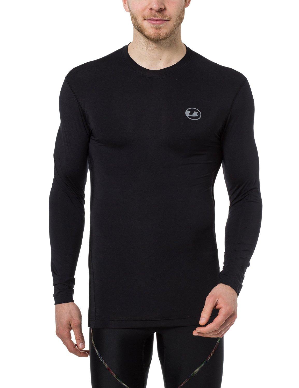 Ultrasport Herren Kompressionsshirt Ben schwarz (Gr. S-XL) bis 5,79€