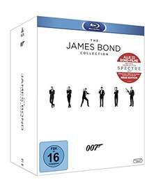 The James Bond Collection (23 Filme Blu-ray)