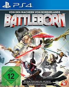 Amazon: Battleborn (PlayStation 4) für 12,21 €