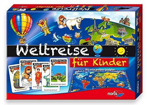 [Amazon Prime] Noris Spiele 606013599 - Kinder Weltreise, Kinderspiel für 10€