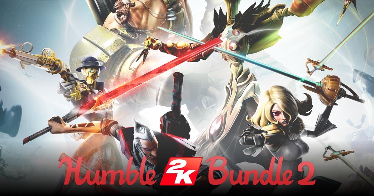 Humble 2K Bundle 2 - Bis zu 8 Spiele ab 0,91€