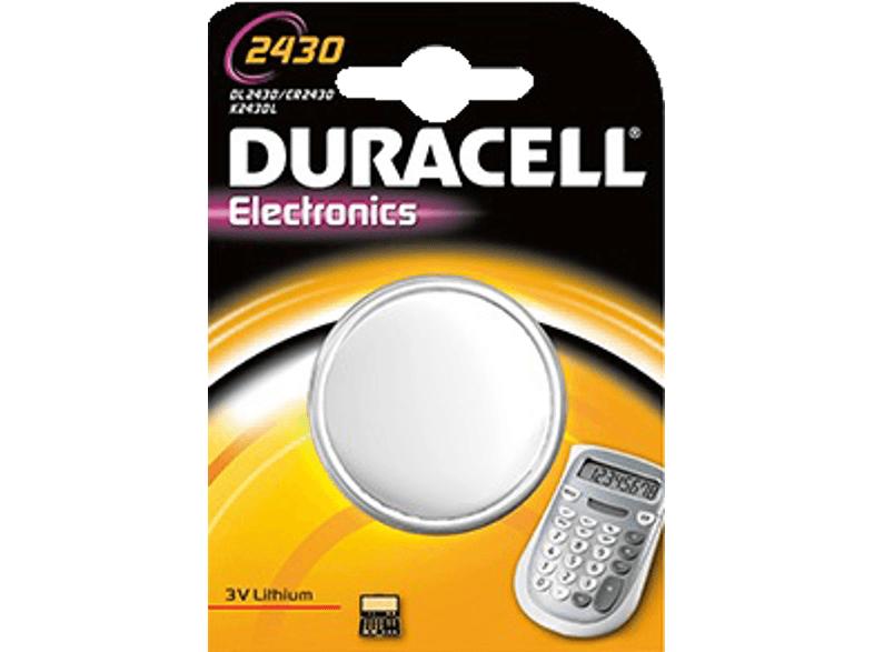 [Saturn.at]DURACELL Lithium DL 2430 Knopfzelle um €1,- versandkostenfrei!