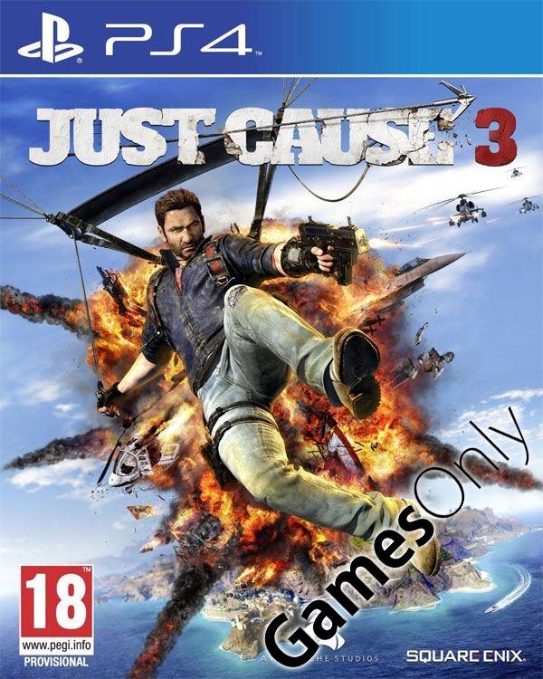 [gamesonly.at] Just Cause 3 (PS4) für 23,98€ - 32% sparen