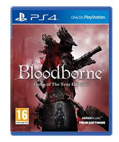 [PS4] Bloodborne Game of the Year Edition um nur 33€ inkl. Versand