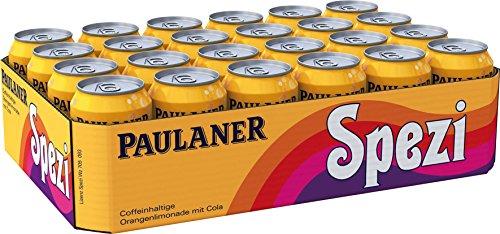 Spezi Fans aufgepasst: Paulaner Spezi, 24er Pack 11,86€ (kein Pfand nach Österreich)